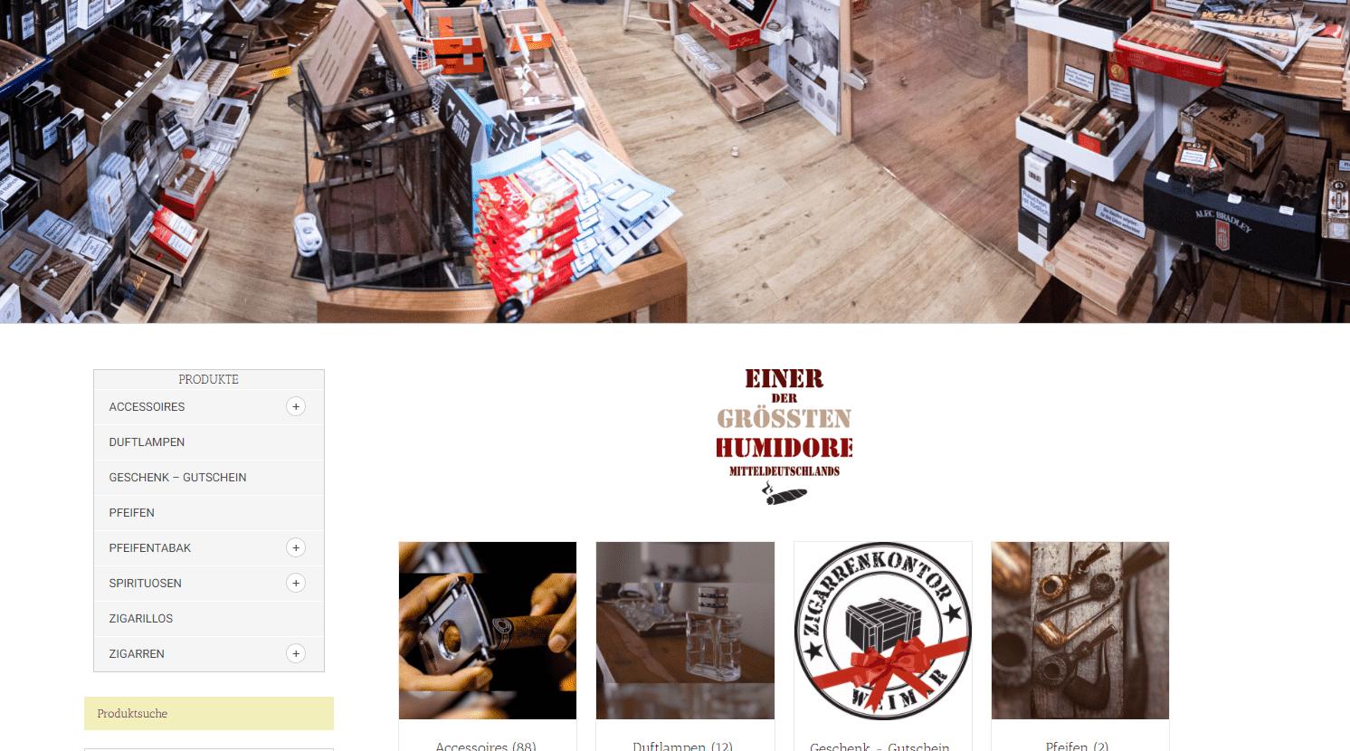 zigarrenkontor shop